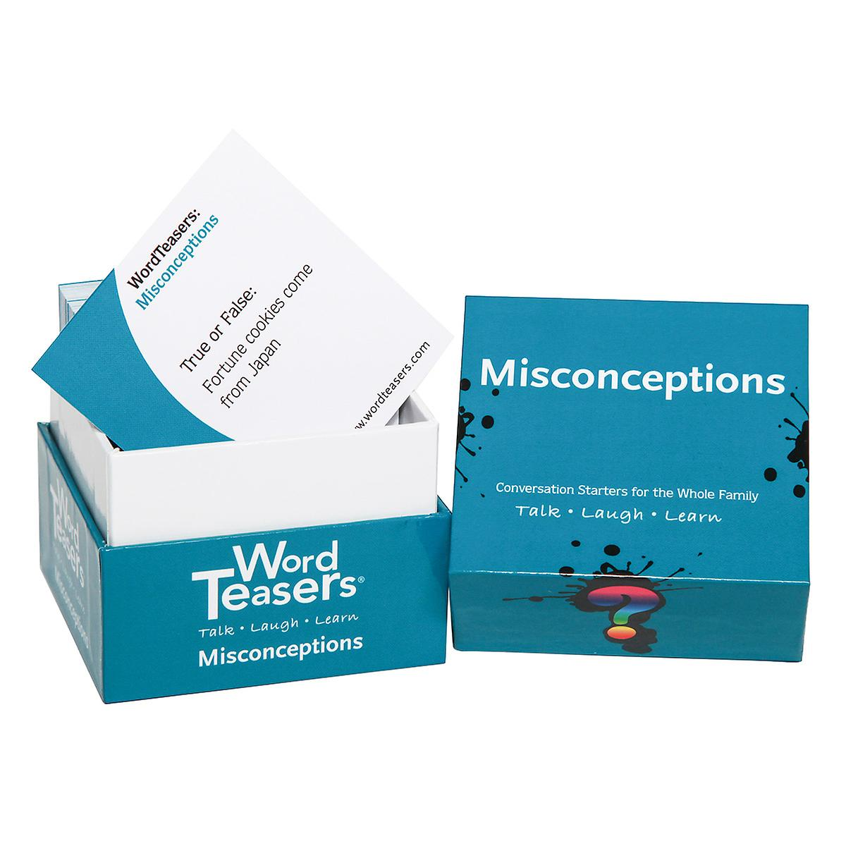 Word Teasers Misconceptions