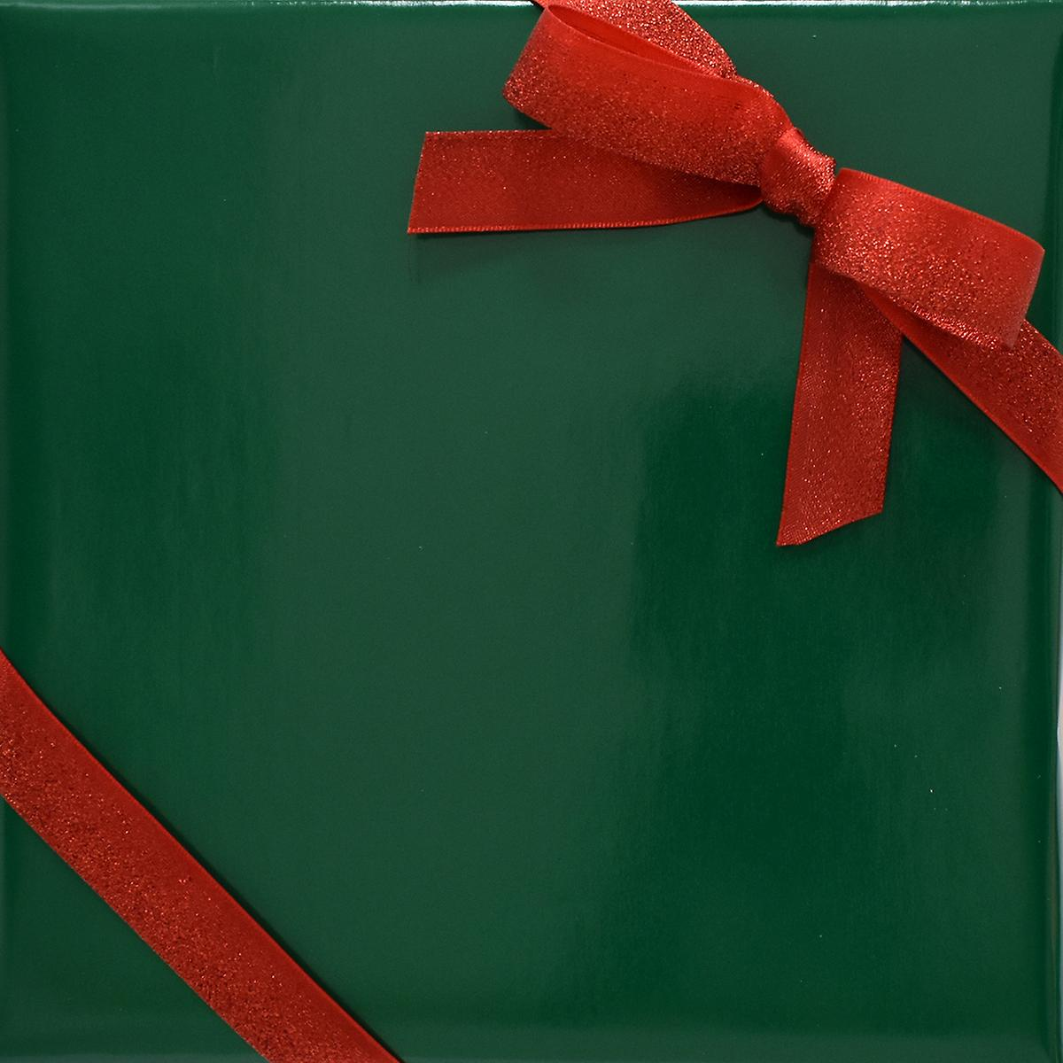Dark Green Gloss Wrapping Paper