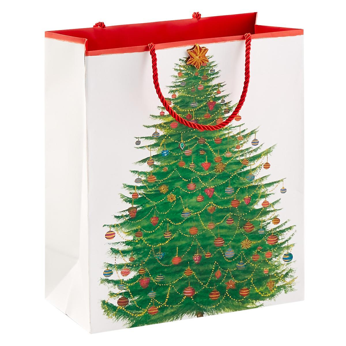Glittering Tree Large Gift Bag