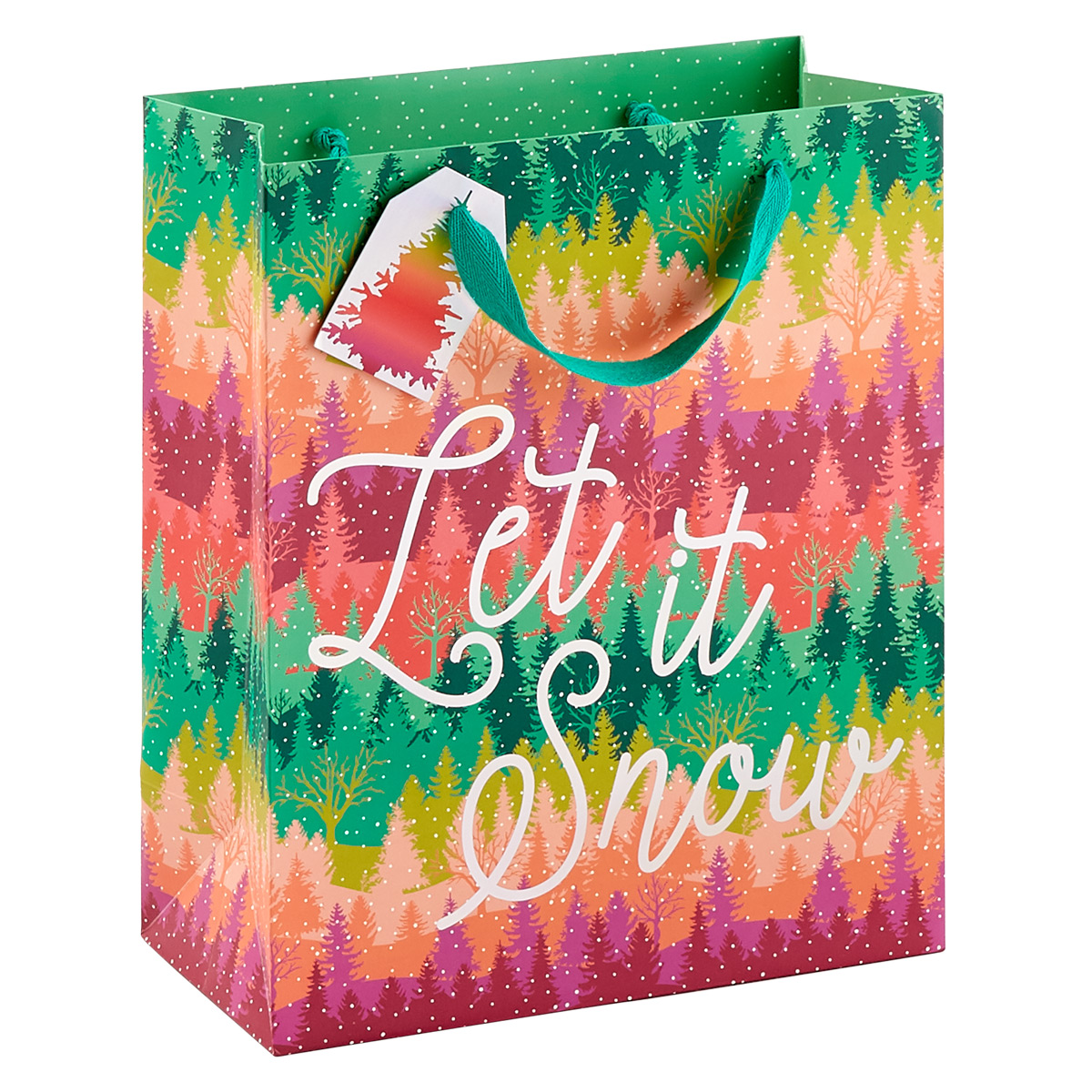 Colorful Timers Large Gift Bag