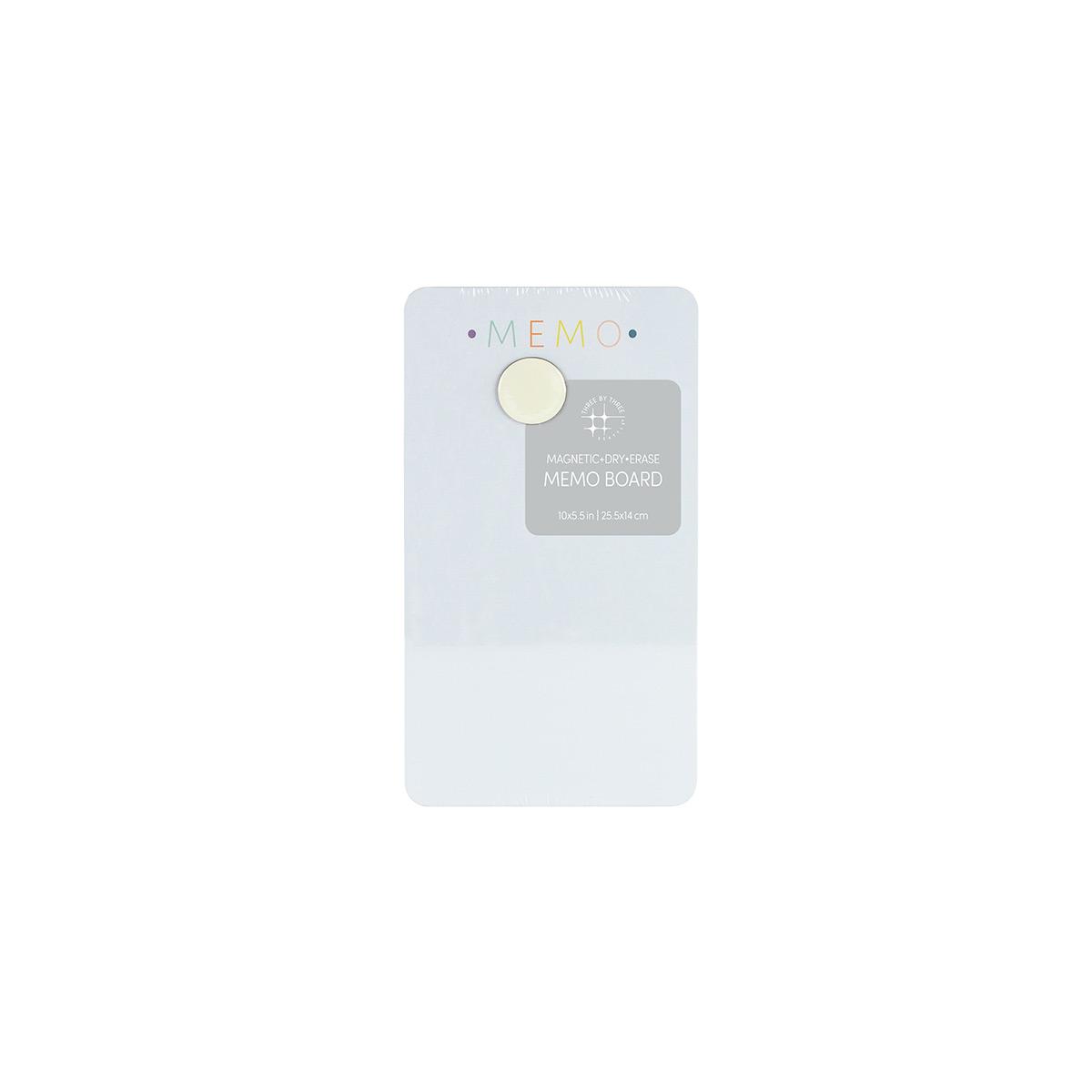 Memo Magnetic Dry Erase Board