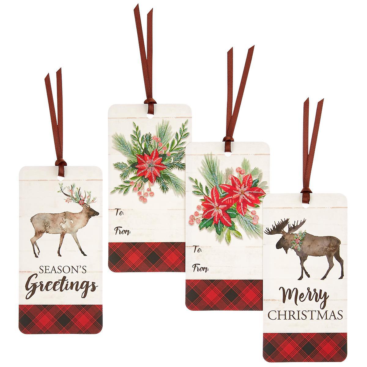 Rustic Elk Gift Tags