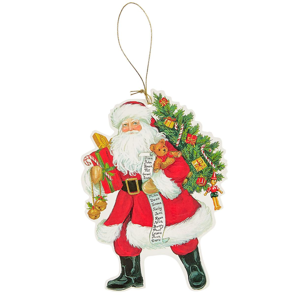 Lynn Haney Santa Gift Tags Pack of 4