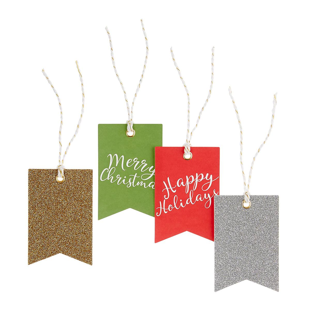 Pennant Gift Tags Pack of 4