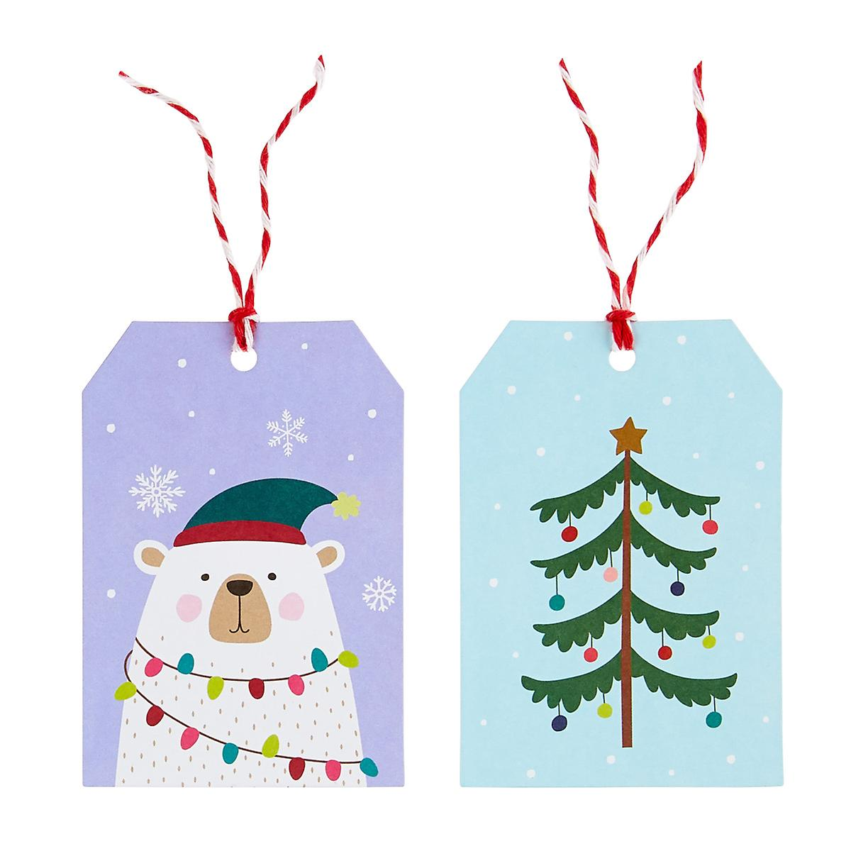 Polar Bear Gift Tags Pack of 2