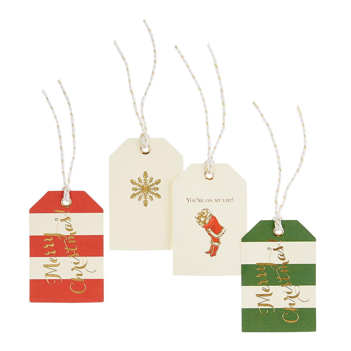 Multi Stripes Gift Tags
