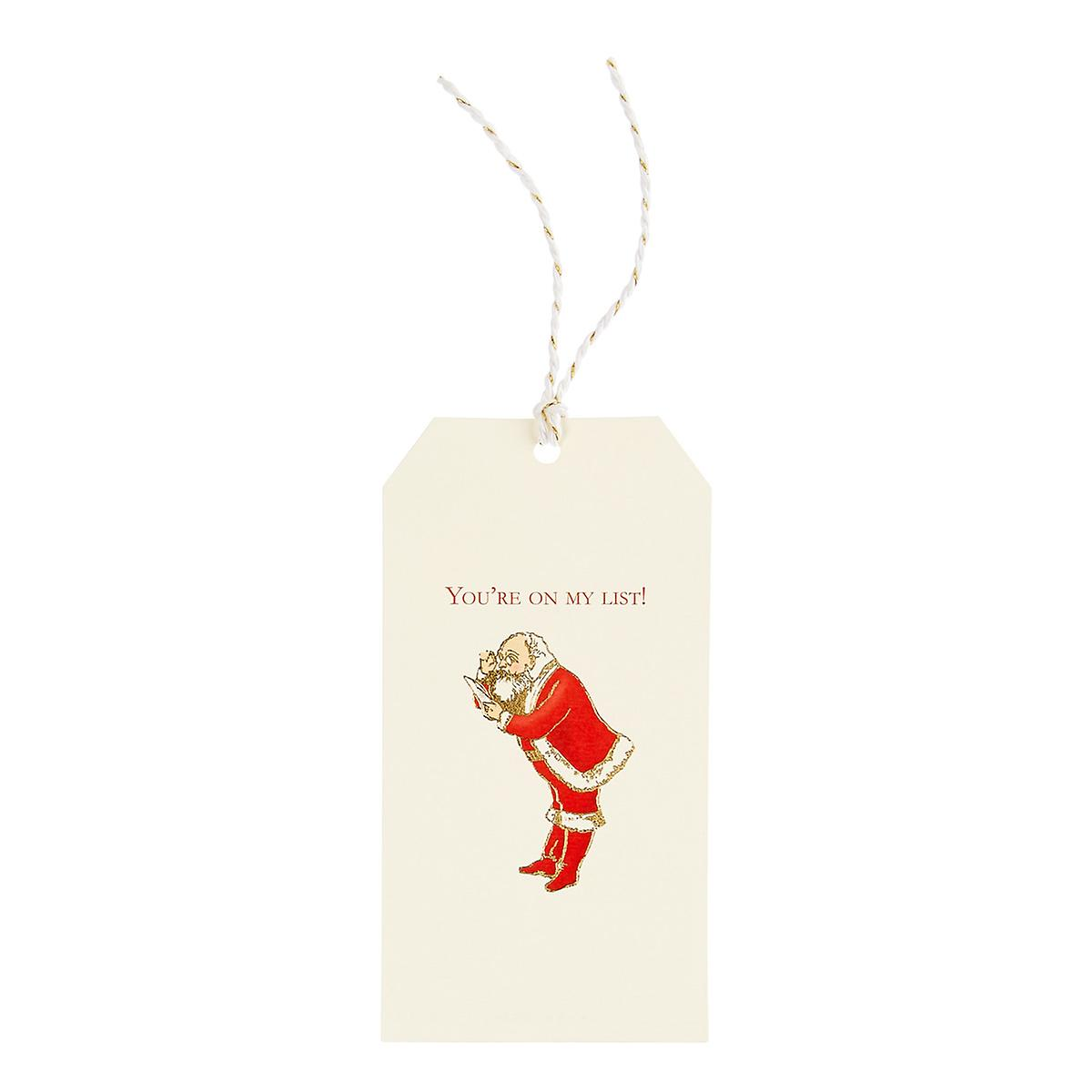 On My List Gift Tags