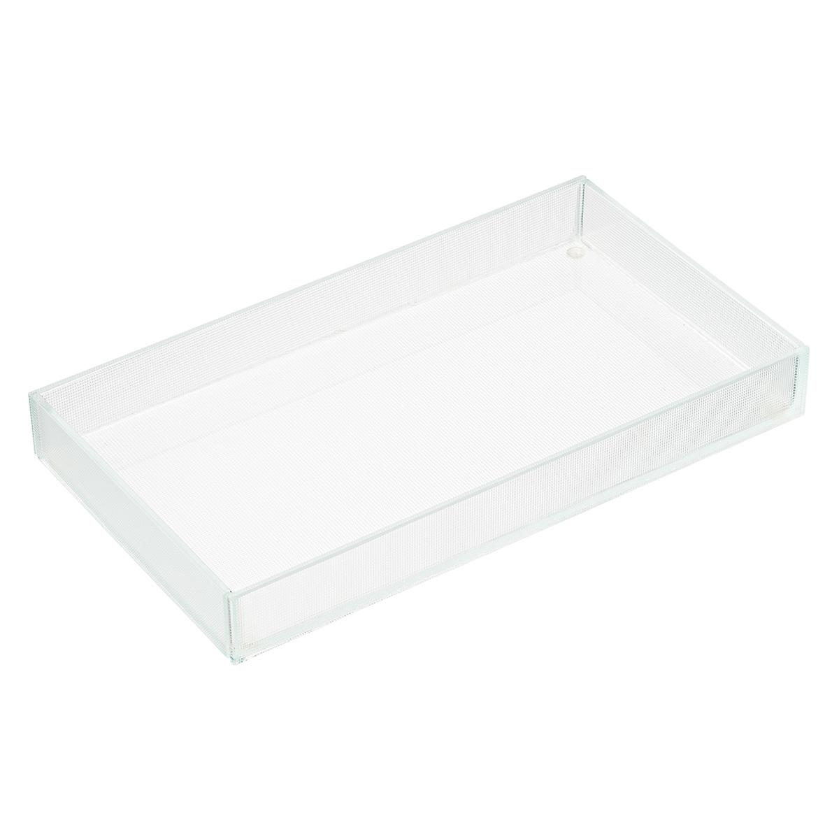 Dimpled Glass Tray