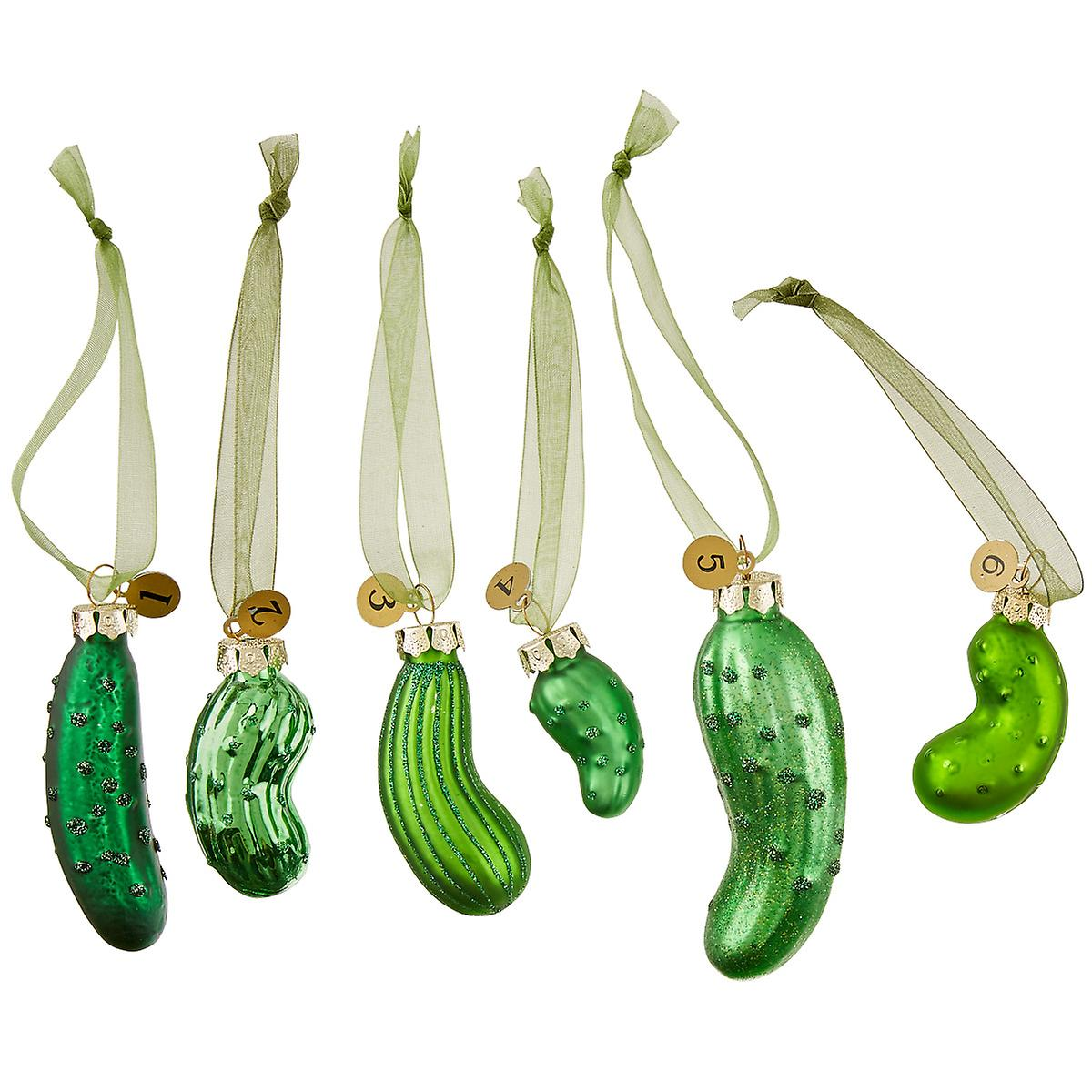 Pickle Ornaments Game Set