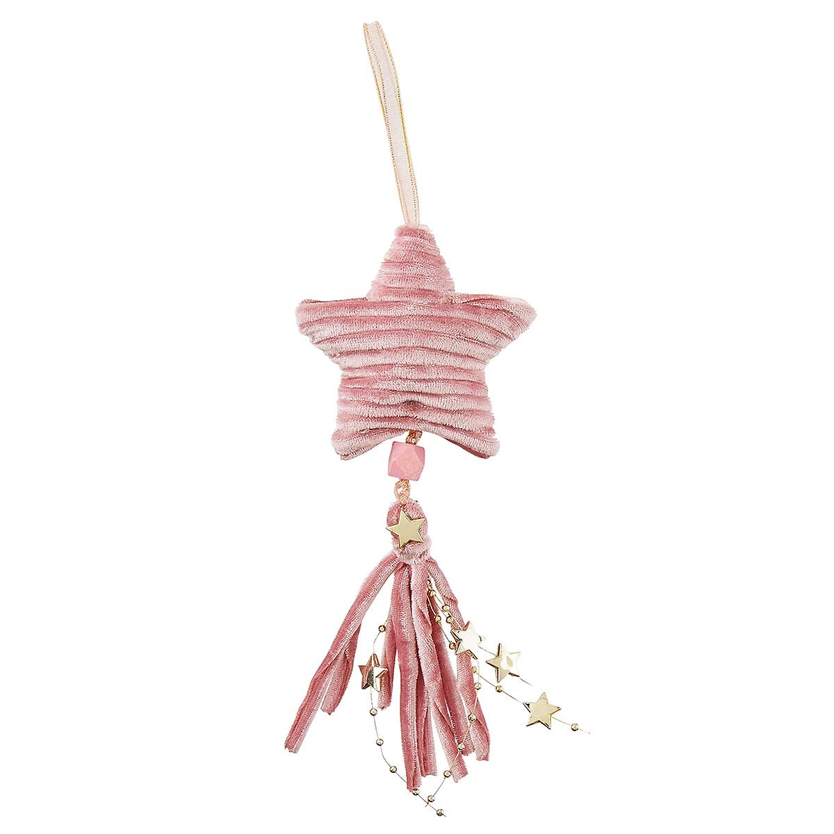 Star Tassel Tie-On Ornament