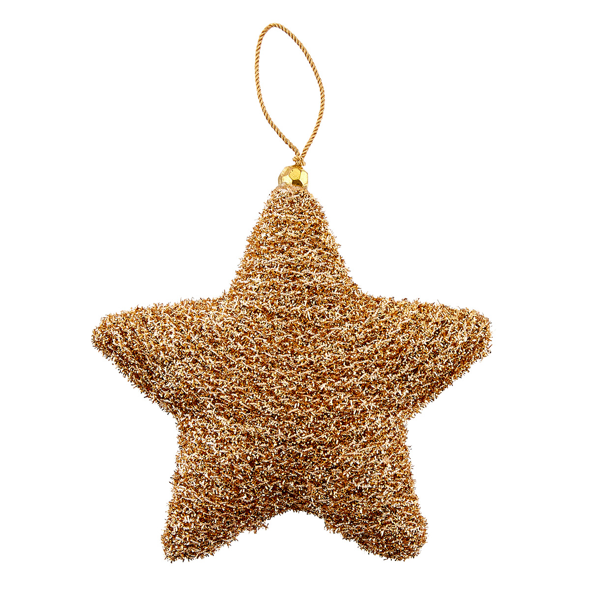 Shimmer Twine Star Tie-On Ornament