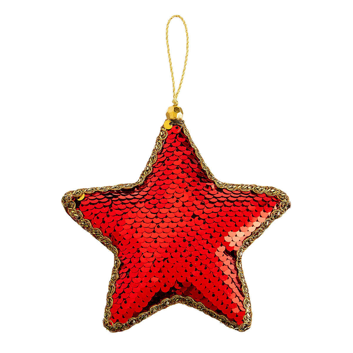 Bling Star Tie-On Ornament