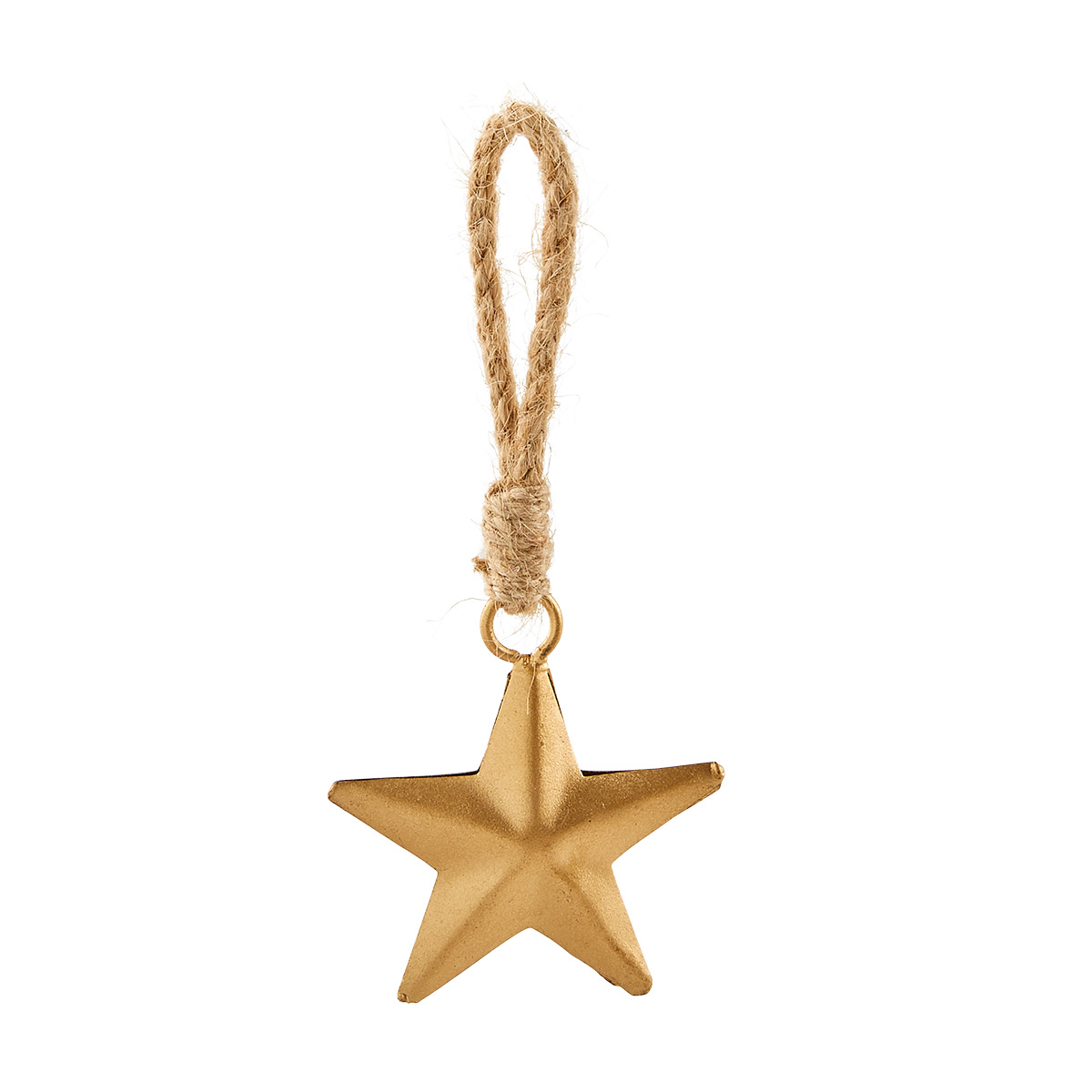 Gold Star Tie-On Ornament