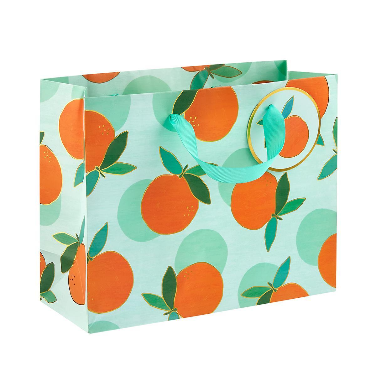 Medium Orange Crush Mint Gift Bag