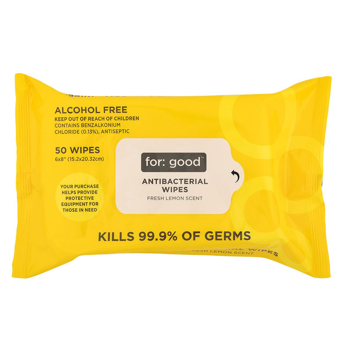 For Good Anti-Bacterial Wipes