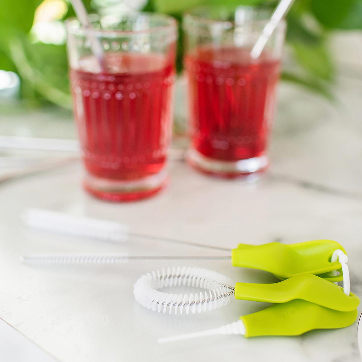 The Little Sipper Drinkware Cleaning Brushes Set of 4