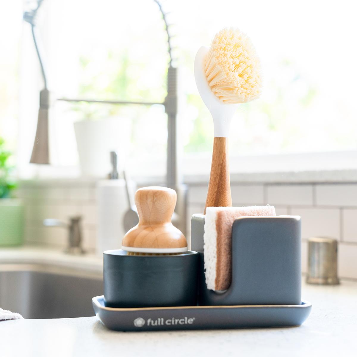 Full Circle Modular Ceramic Sink Caddy