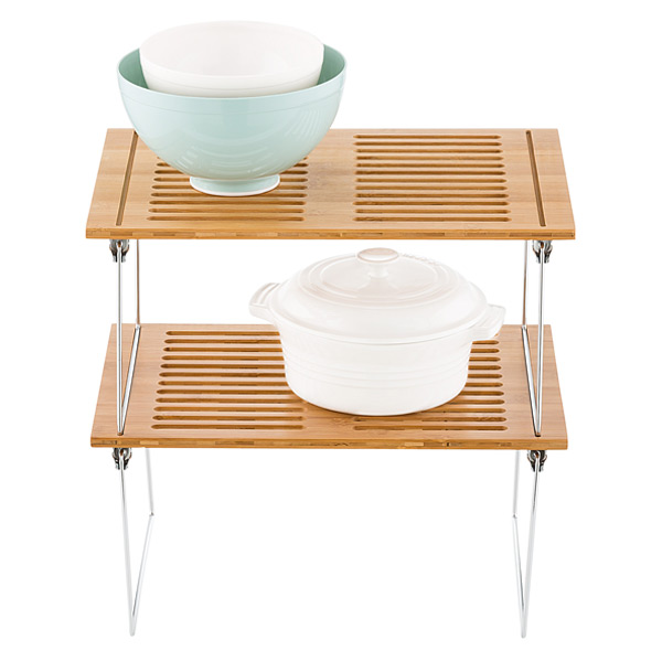 Medium Bamboo Stackable Shelf