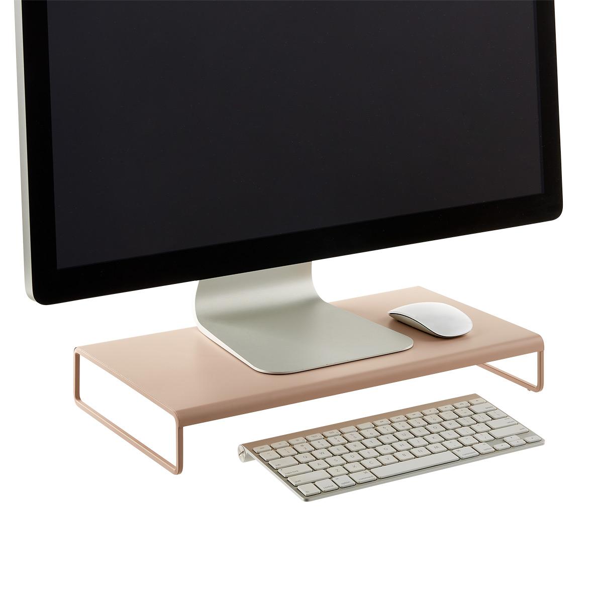 Blush Monitor Stand