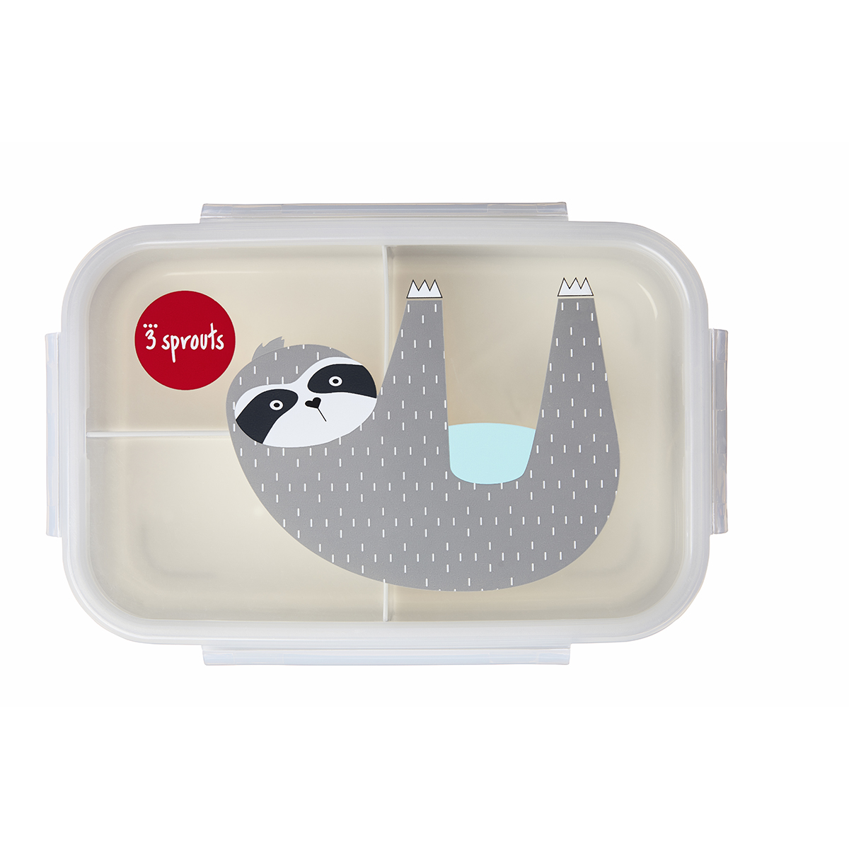 3 Sprouts Sloth Bento Box