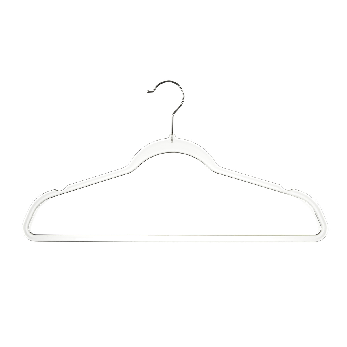 Clear Slim Suit Hangers Case of 120