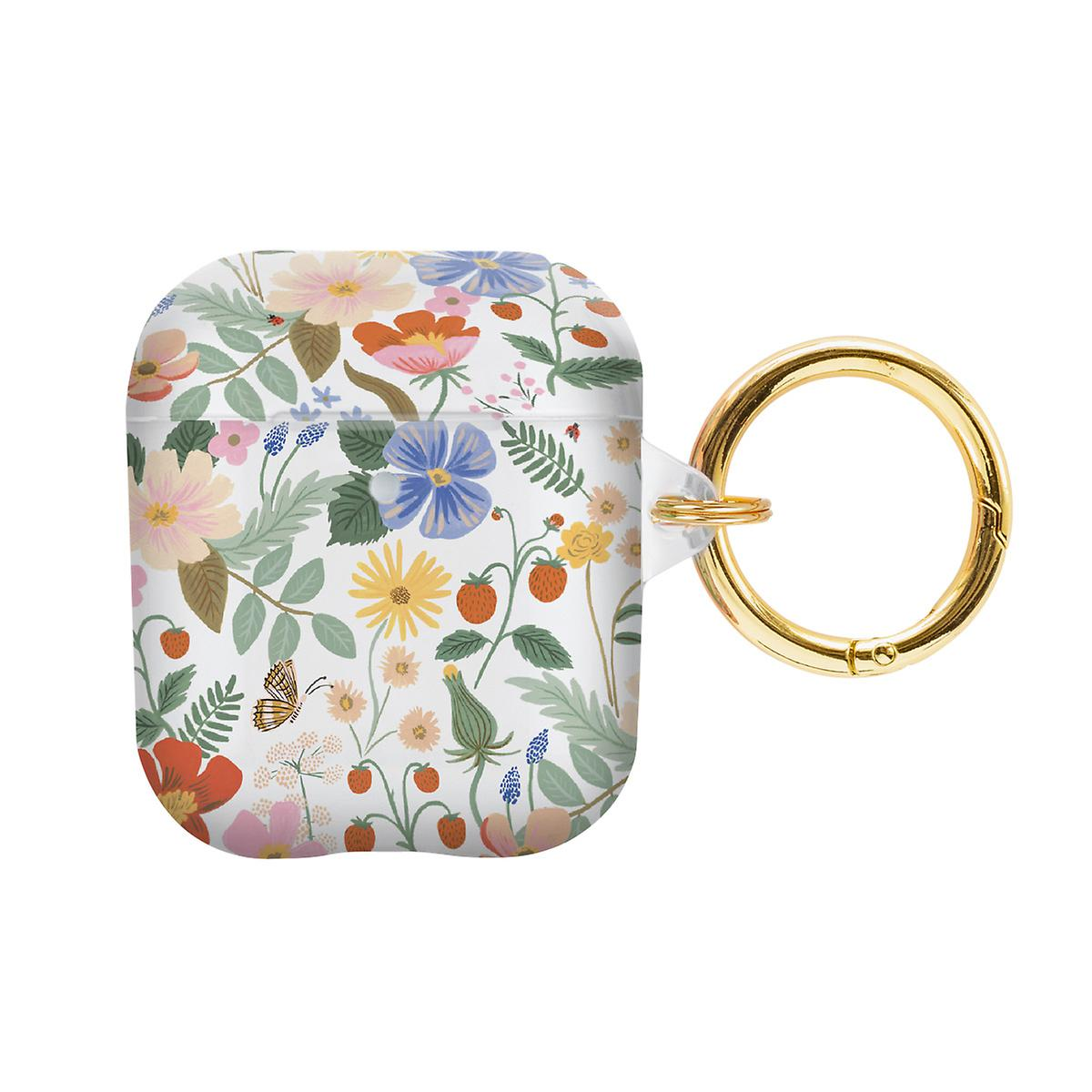 Rifle Paper Co. Strawberry Fields AirPod Case