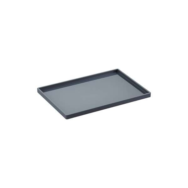 Dark Grey Poppin Accessory Slim Trays