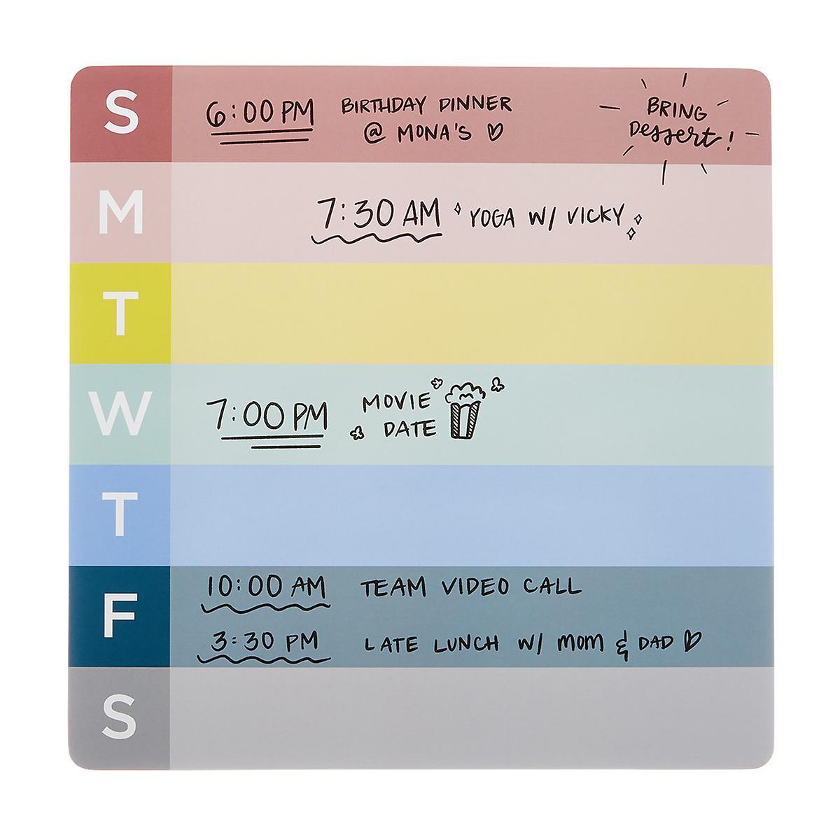 U-Brands Weekly Notepad