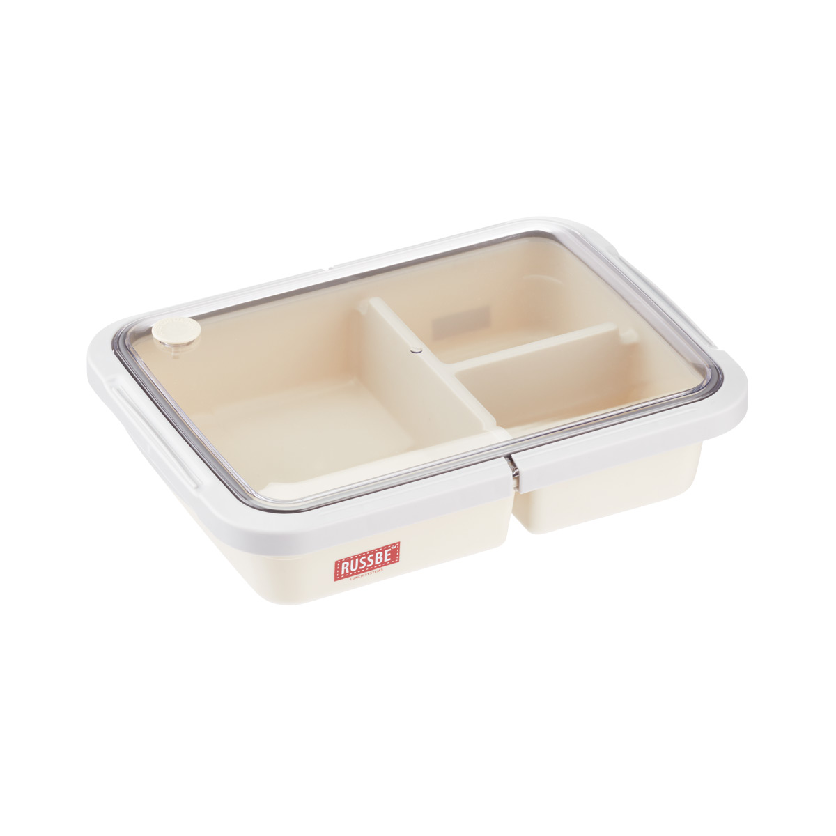 Russbe 1.6 qt. 3-Compartment Lunch Bento Box
