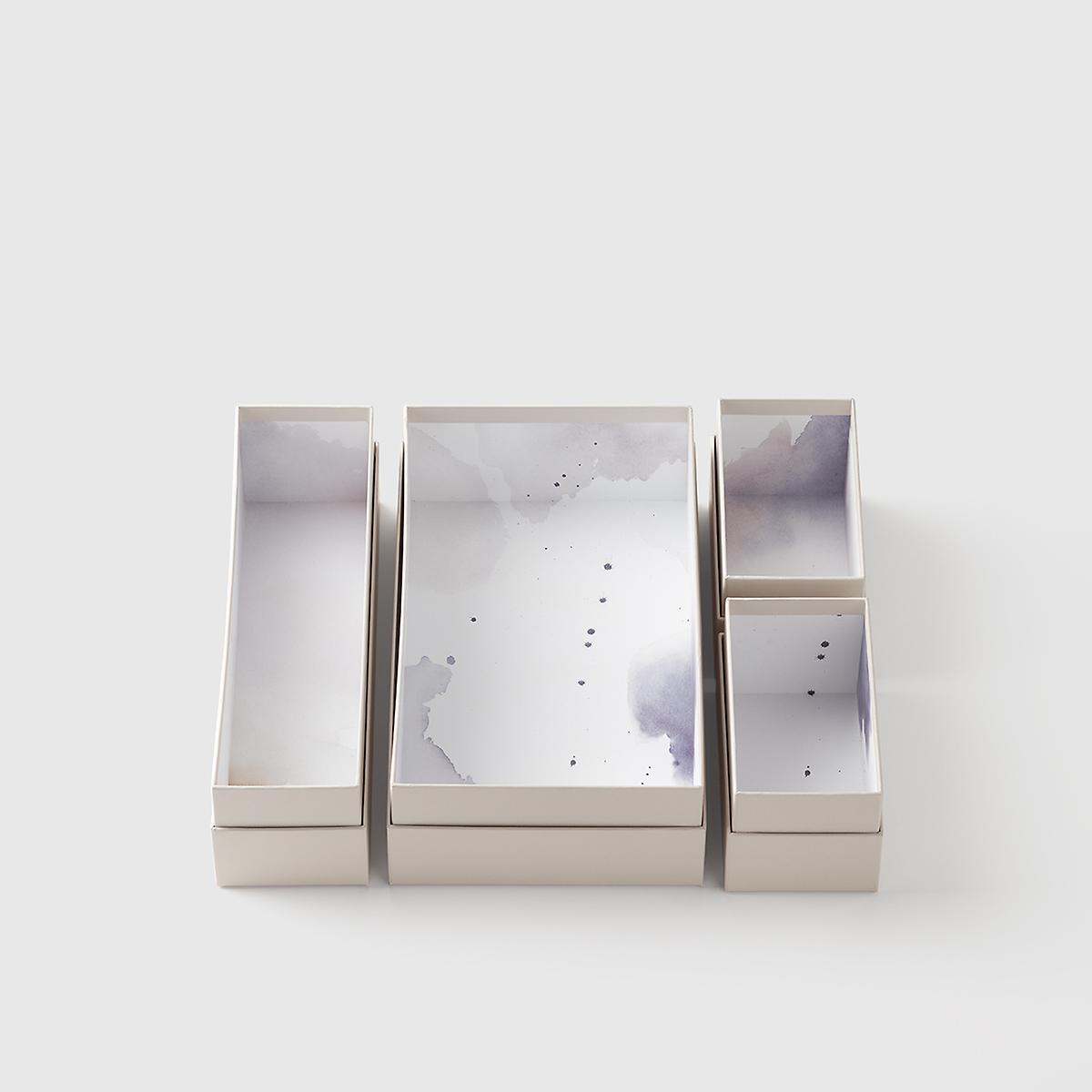 Marie Kondo 8-Piece Clarity Hikidashi Medium Organizer Boxes
