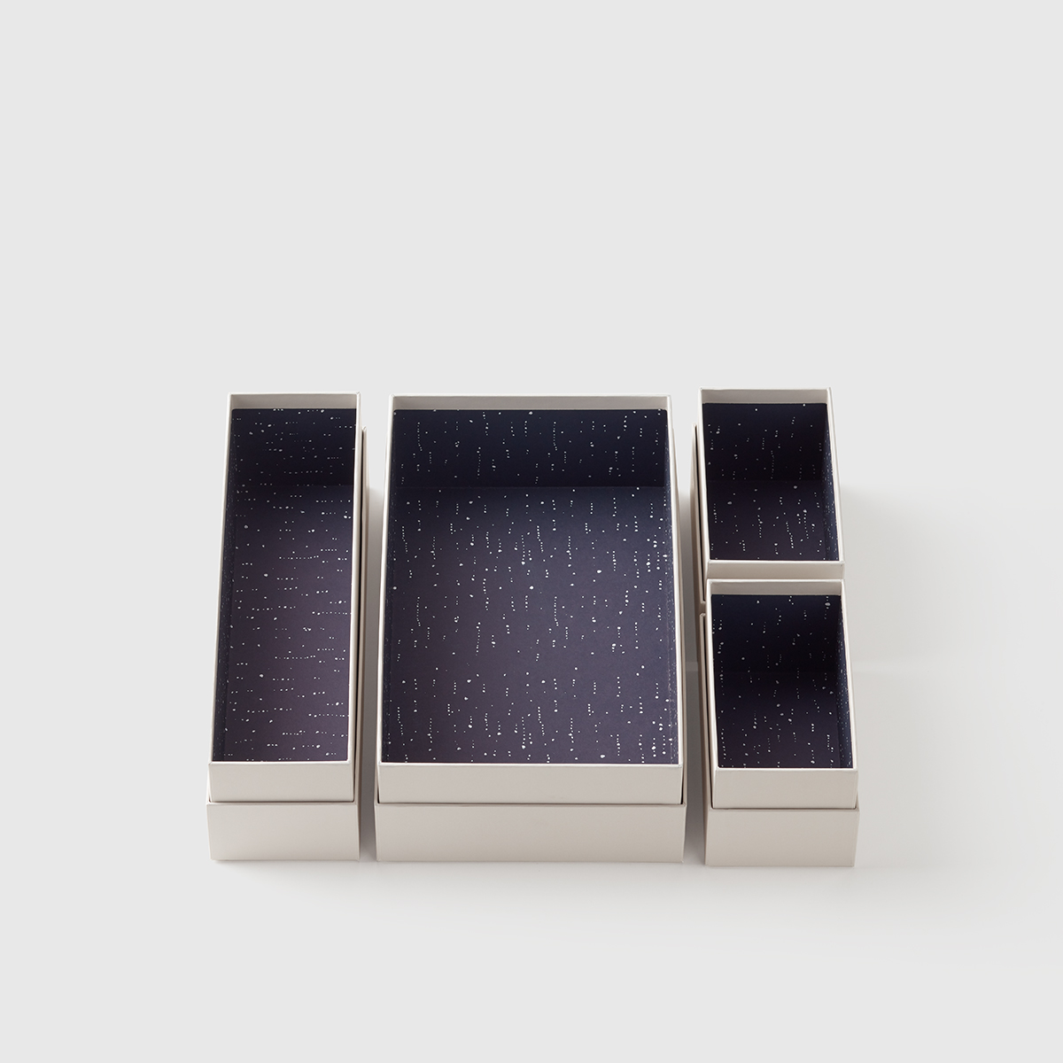 Marie Kondo 8-Piece Balance Hikidashi Medium Organizer Boxes
