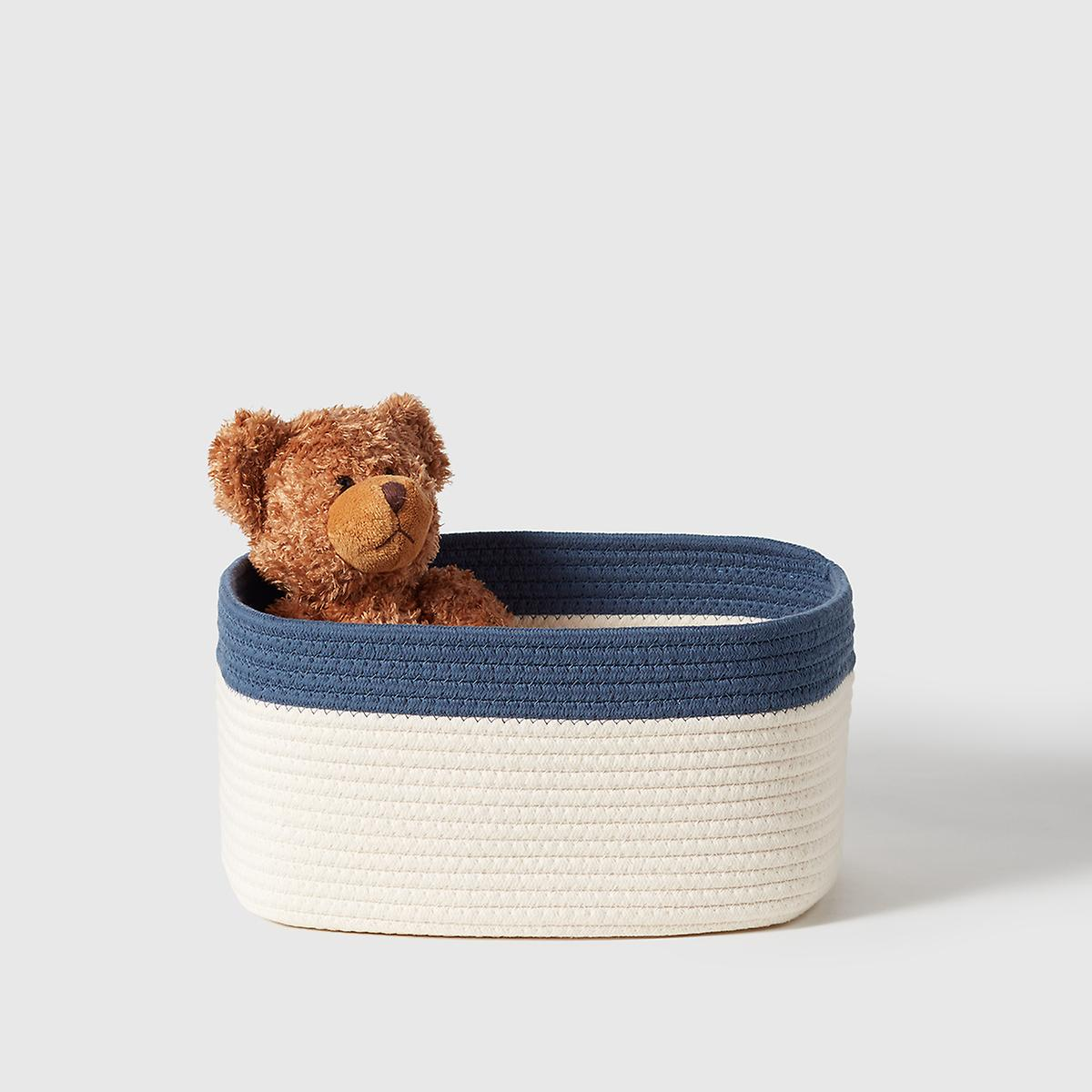 Marie Kondo Indigo Blue Kawaii Cotton Rope Bin