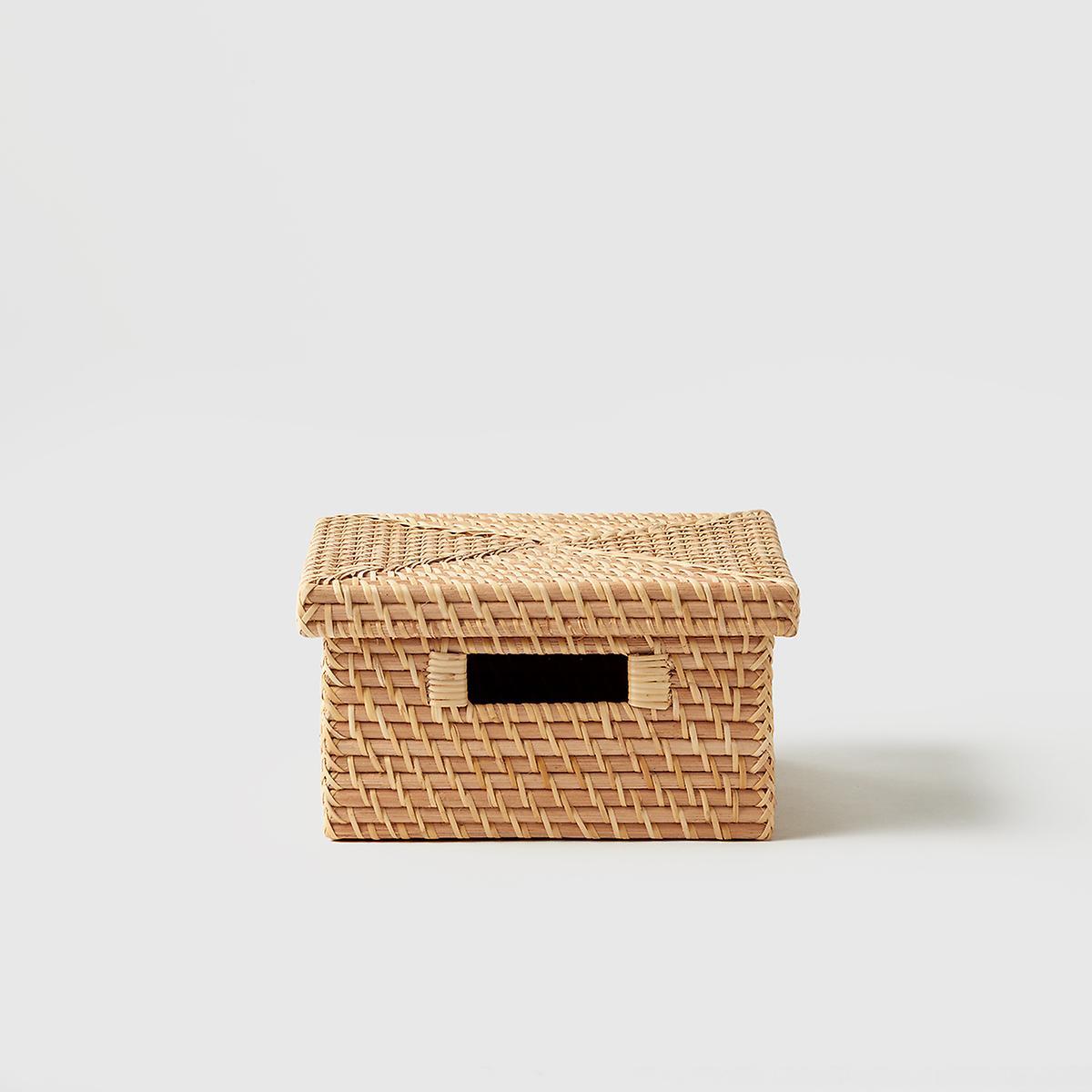 Marie Kondo Ori Rattan Photo Box