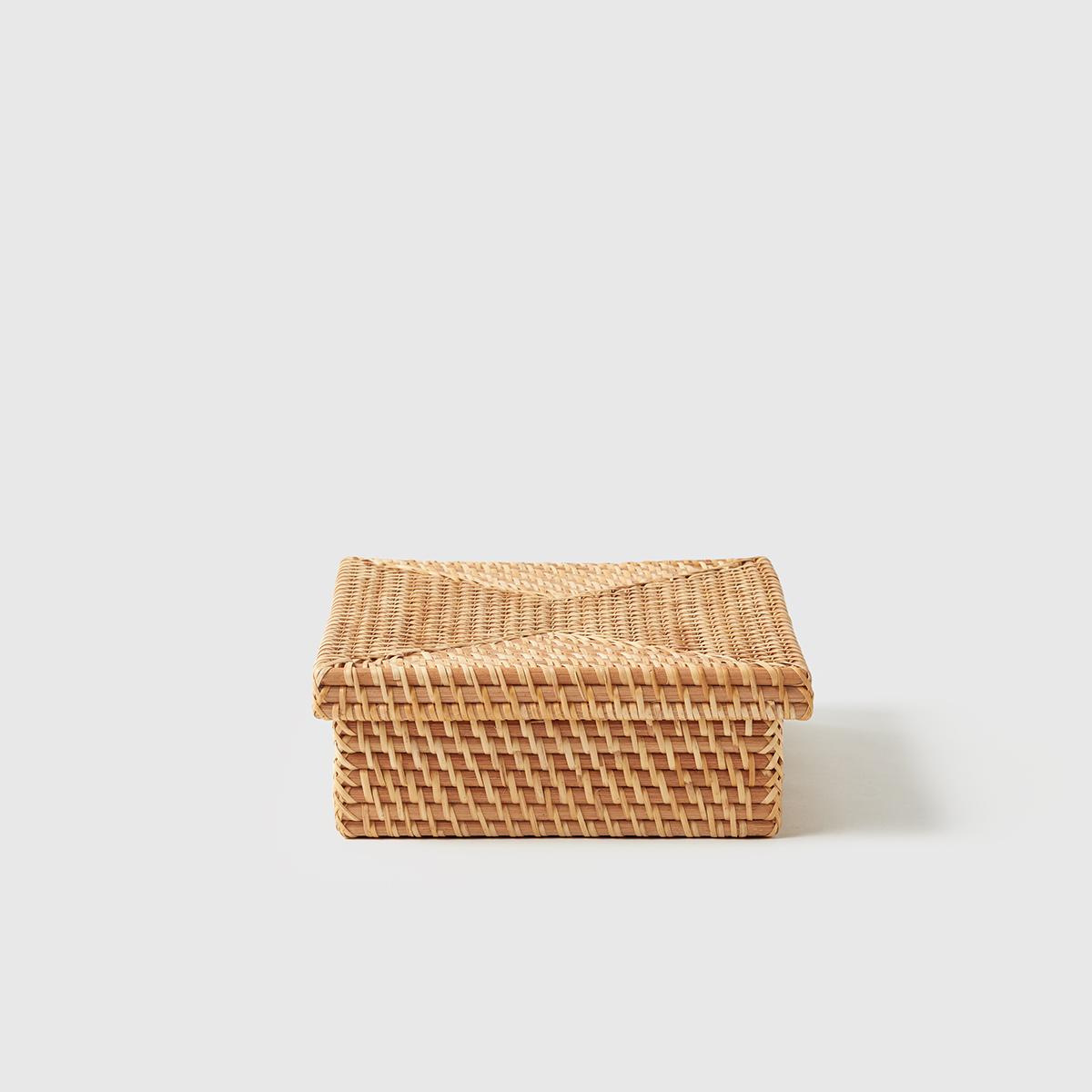 Marie Kondo Ori Rattan Letter Box
