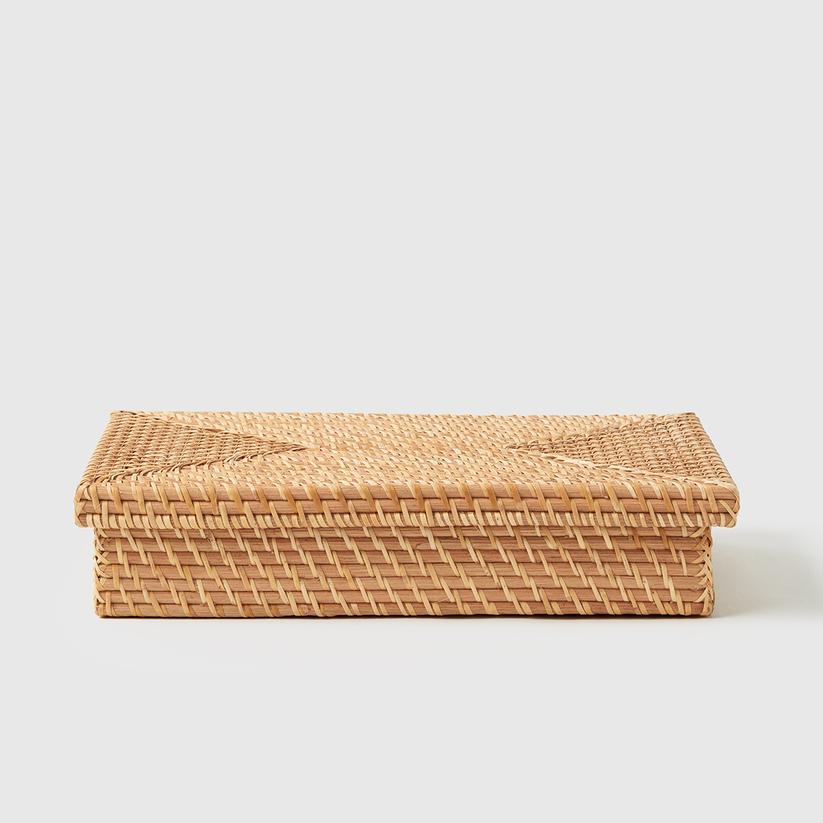 Marie Kondo Ori Rattan Document Box