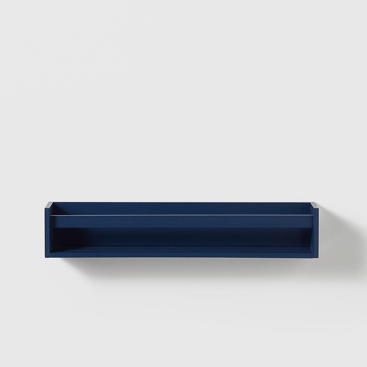 Marie Kondo Indigo Blue Kid's Wall-Mounted Bookshelf