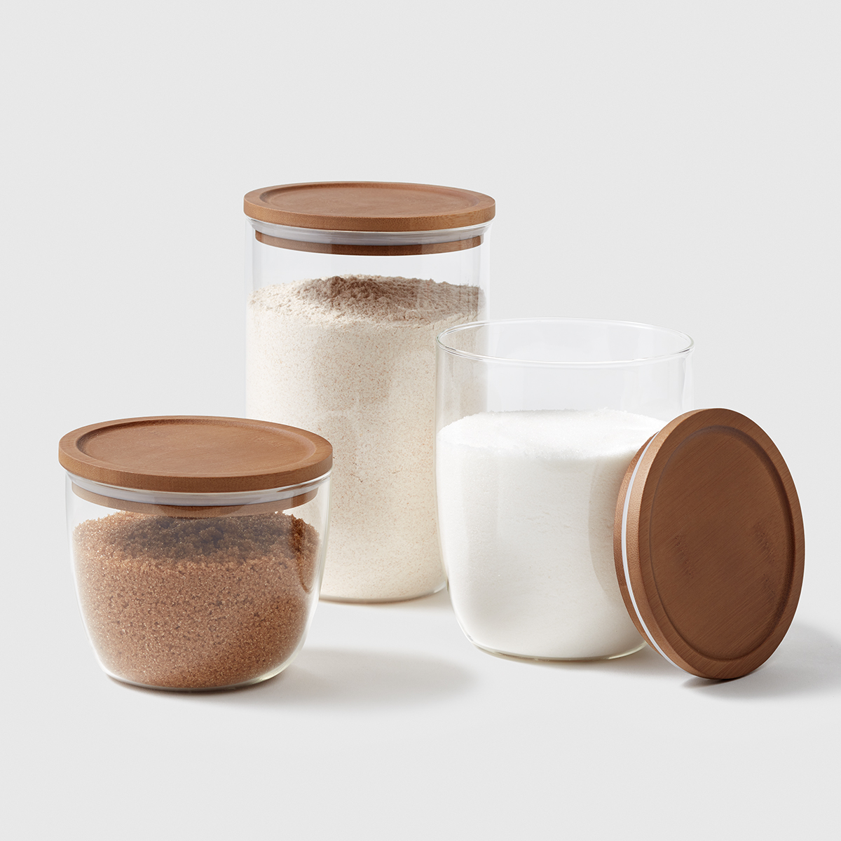 Marie Kondo Modular Glass Canisters