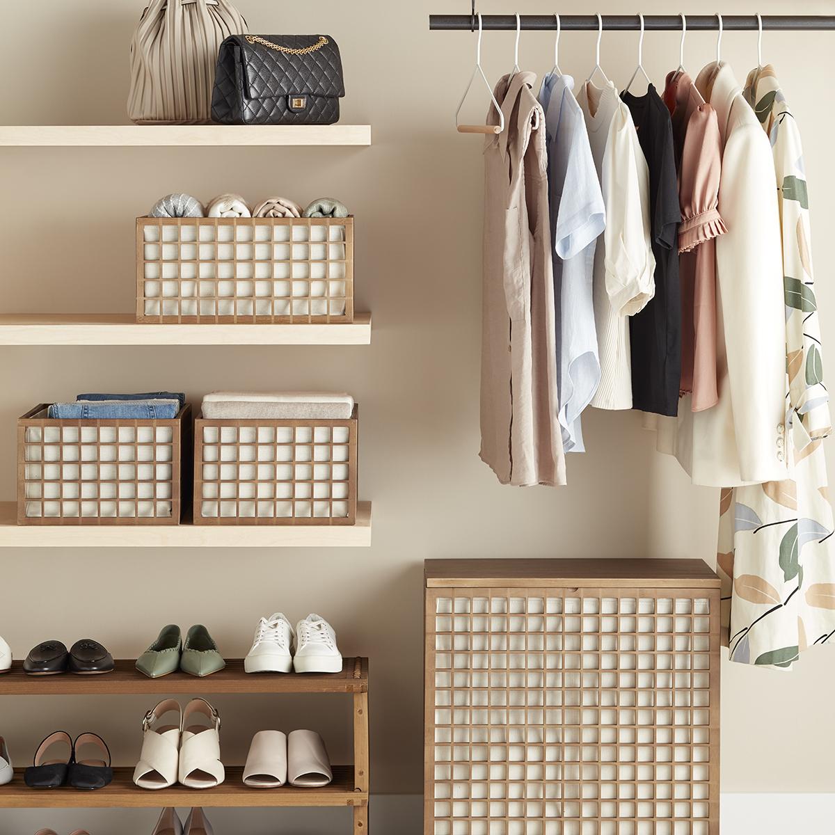 Marie Kondo Shoji Closet Starter Kit