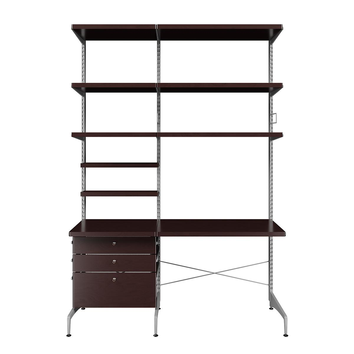 Elfa Freestanding Office Solution