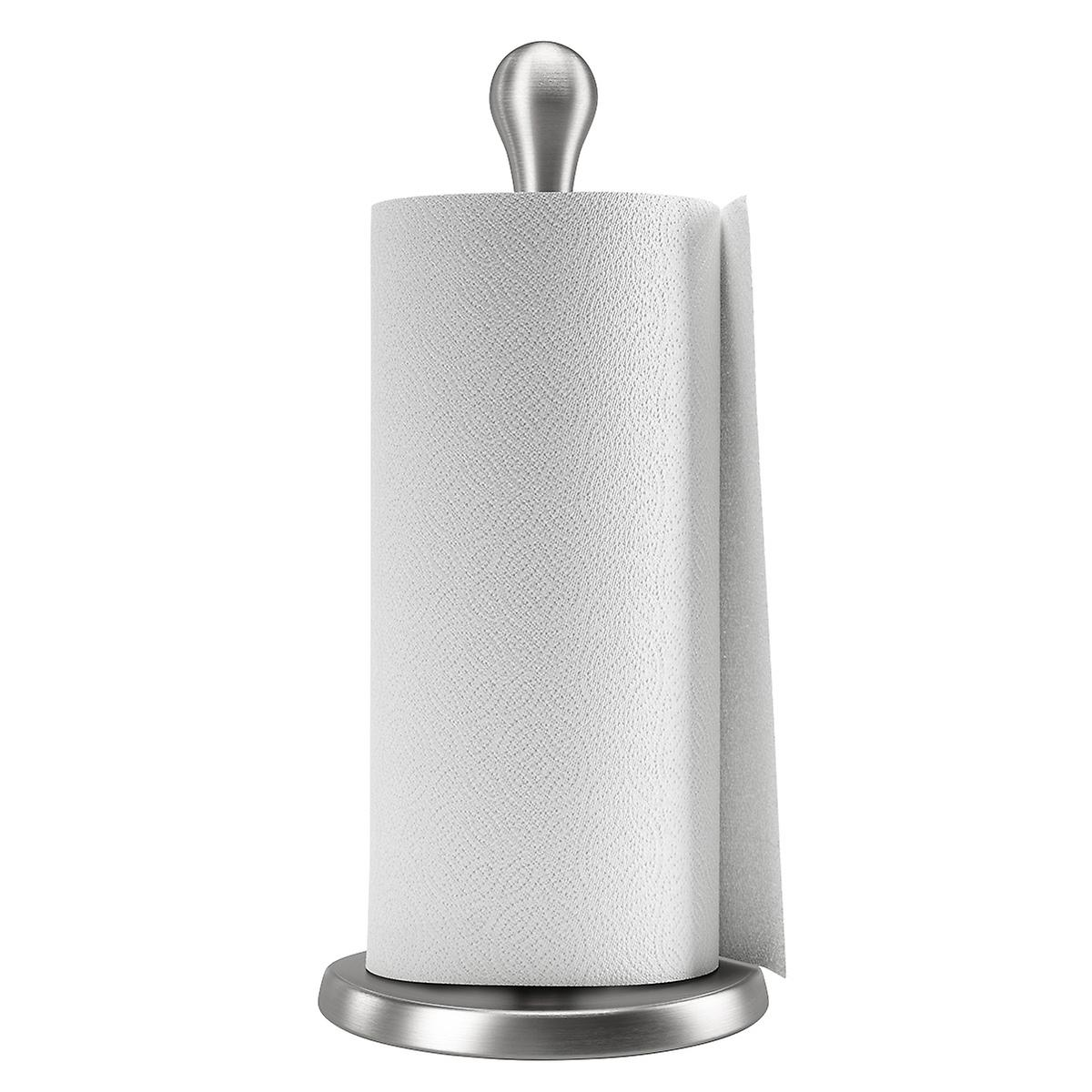 Nickel Tug Paper Towel Holder by Umbra