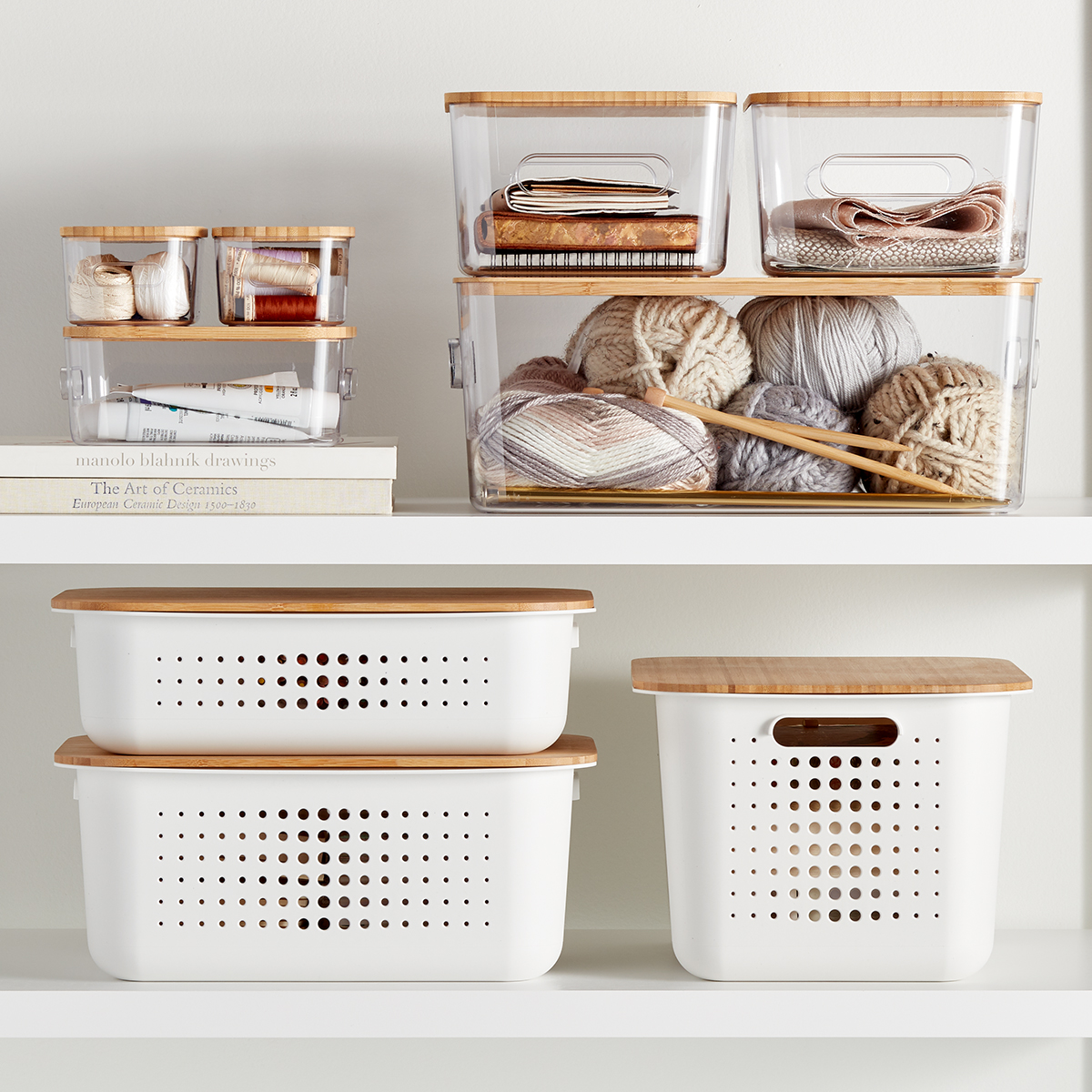 Nordic Basket & Smart Store Storage Starter Kit