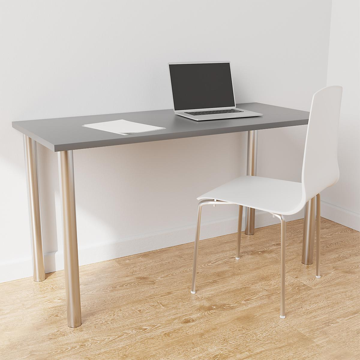Platinum & Grey Elfa Desk
