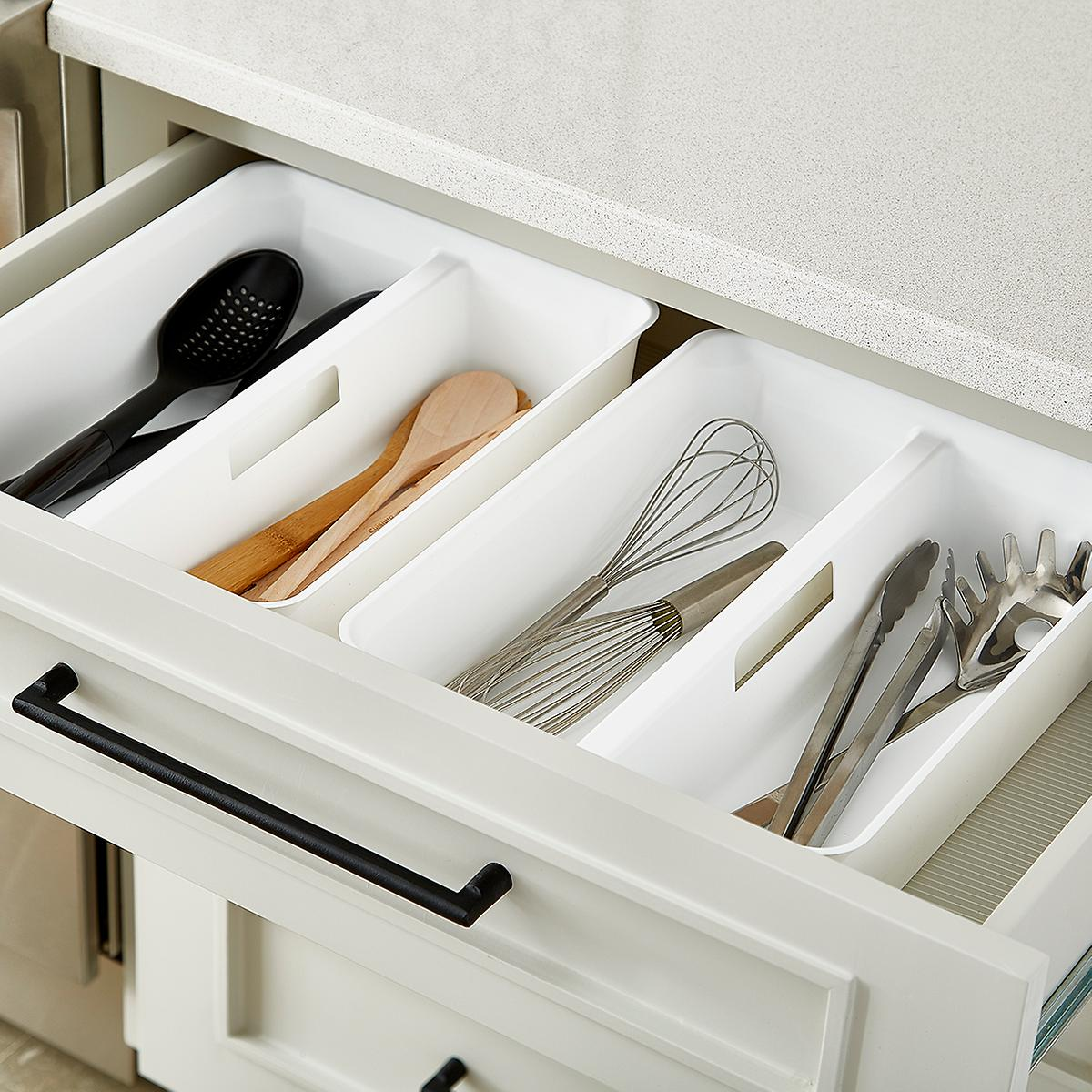 Smart Store Handled Tray