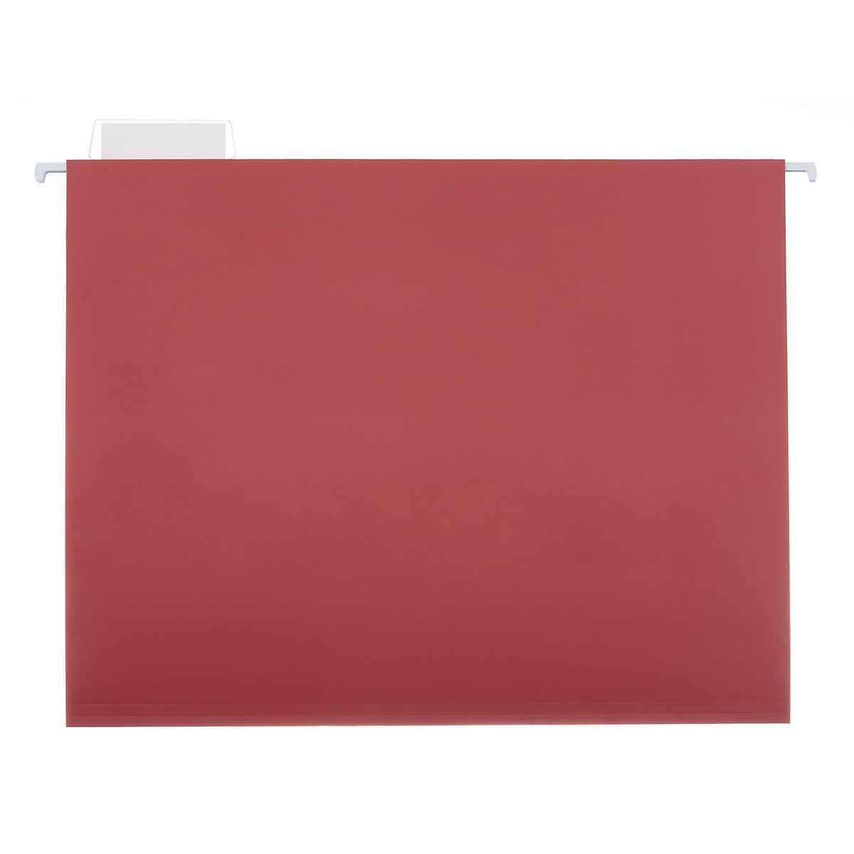 Rose Letter-Size Hanging File Folders