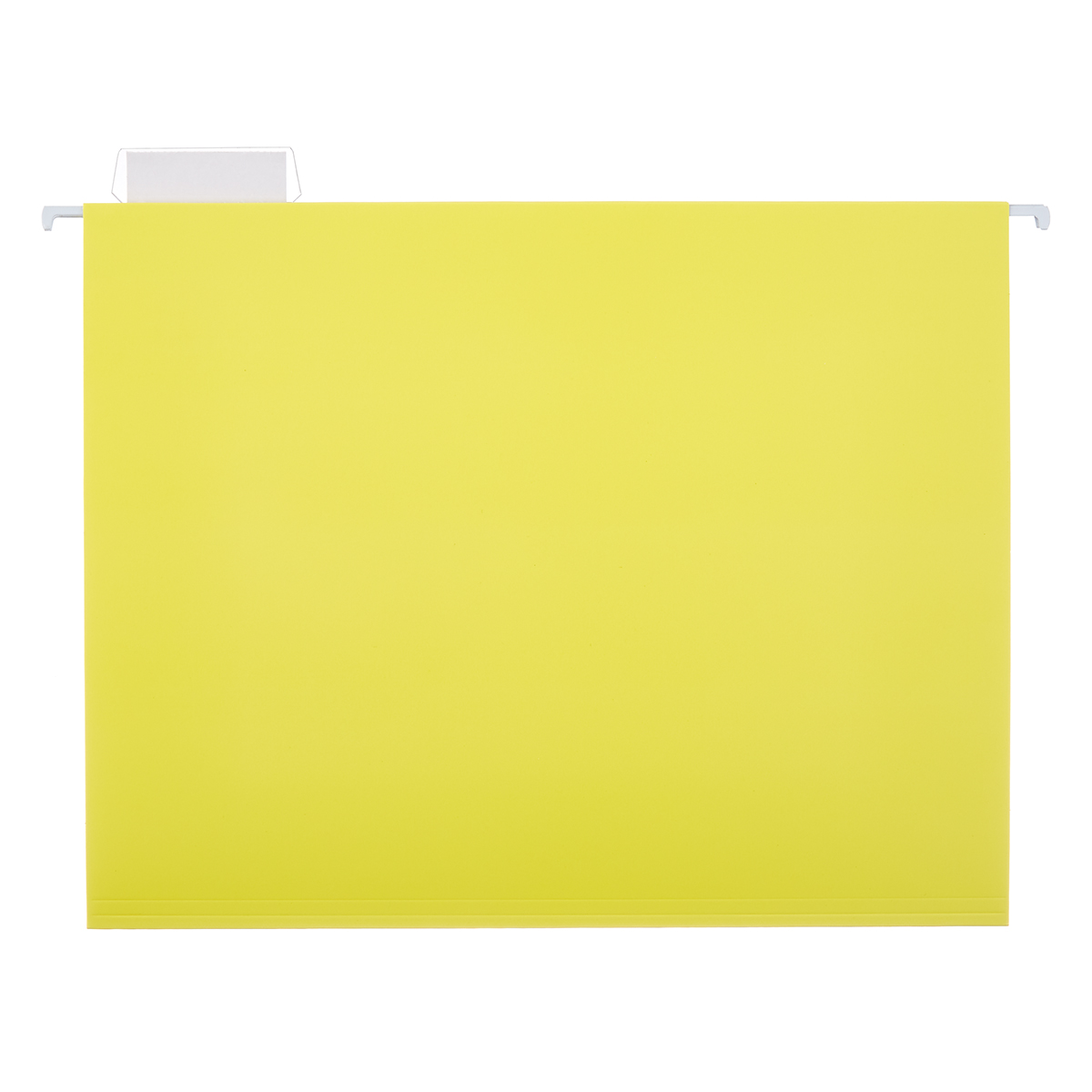 Yellow Letter-Size Hanging File Folders