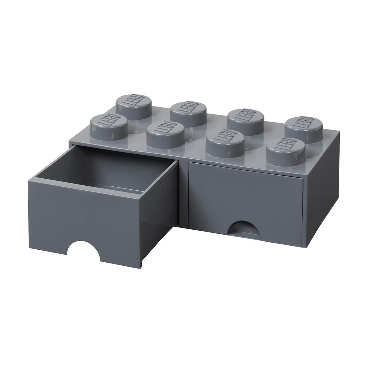 Dark Grey X-Large Lego Storage Drawer