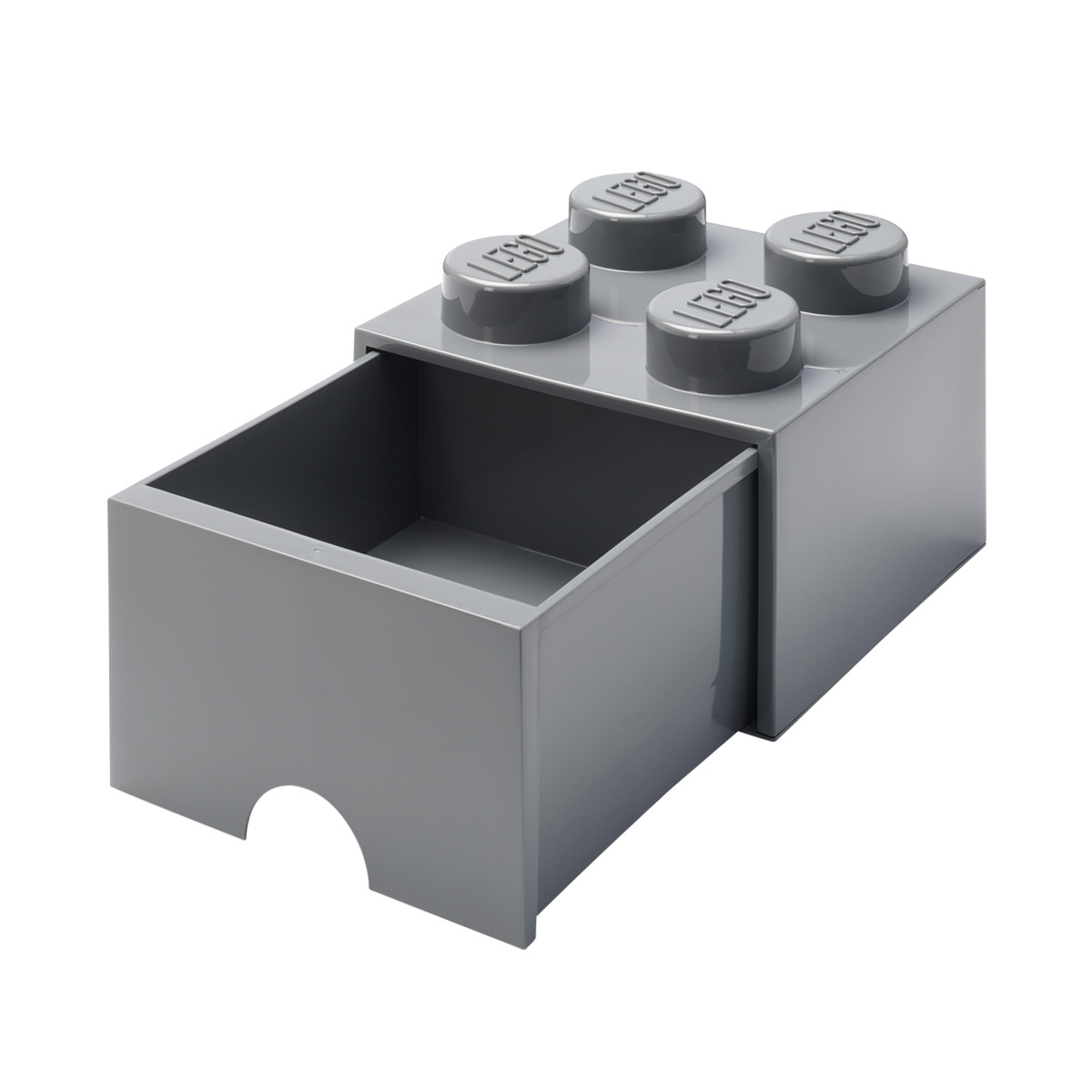 Dark Grey Large Lego Storage Drawer