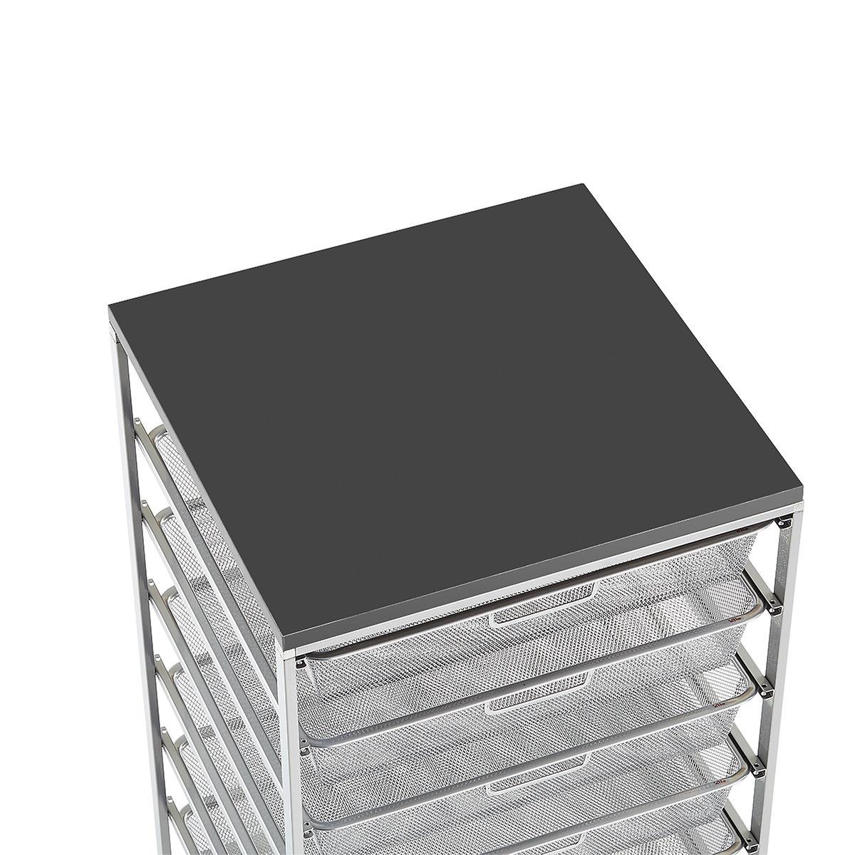 Slate Cabinet-Sized Elfa Melamine Top