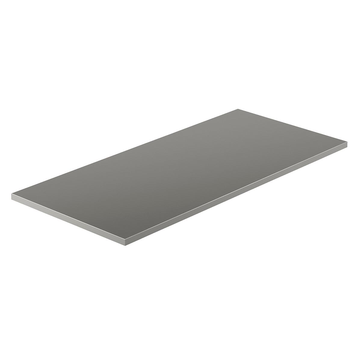 Grey Melamine Desk Top