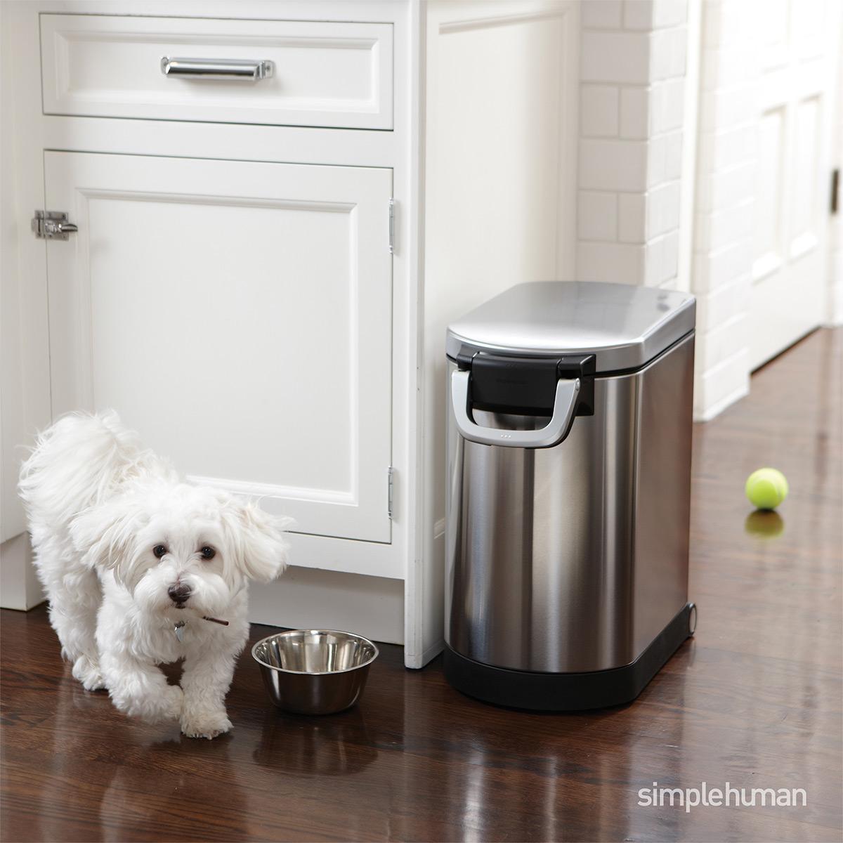 simplehuman 29 lb. Pet Food Container